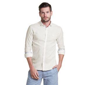 Camisa-Casual-Lisa-Ml-Linho