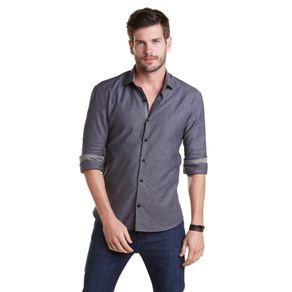 Camisa-M-L--Fio-Tinto-Micro-Padrao