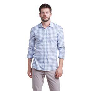 Camisa-M-L-Slim-Casual-Fio-Tinto-Xarez