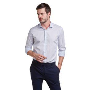 Camisa-com-listras-interrompidas-por-maquinetas-manga-longa-100--Algodao-com-dois-botoes-no-pe-de-gola-para-melhor-acomodar-a-gravata-sem-bordado-e-com-modelagem-tradicional-